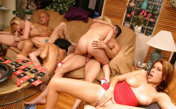 hot gangbang session